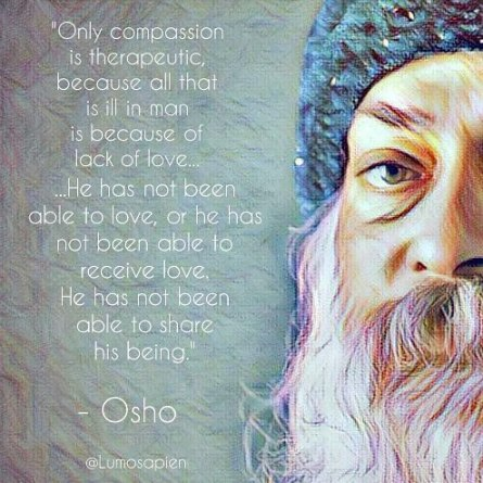 Image result for compassion osho